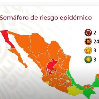 Veracruz tercer estado en color verde
