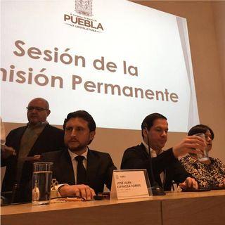 Congreso de Puebla nombrará a gobernador interino