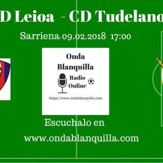 SD Leioa - CD Tudelano retransmision del partido