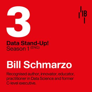 Bill Schmarzo - The dean of Big Data in the Data Science and AI Industry