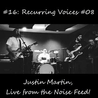 #16: Recurring Voices #08 - Justin Martin, Live from the Noise Feed!