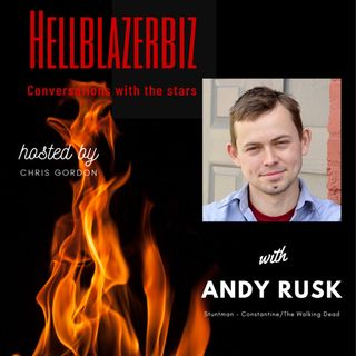 NBC Constantine and TWD stuntman Andy Rusk talks to me about the craft.