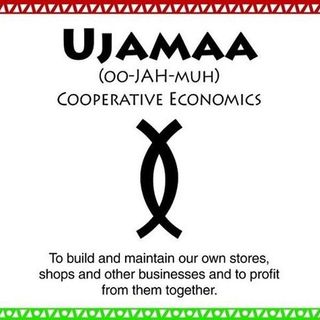 "2019 Kwanzaa Day 4:  Ujamaa using Shawn Rochester's ""Black Tax"" book"