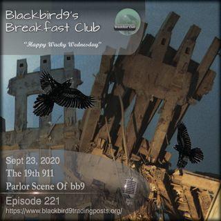 The 19th 911 Parlor Scene of bb9 - Blackbird9 Podcast