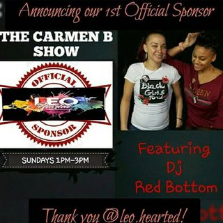 THE CARMEN B SHOW /DJREDBOTTOM 1.14.17