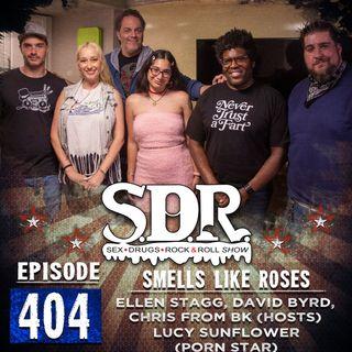 Ellen Stagg, David Byrd, Chris From BK & Lucy Sunflower (Hosts & Porn Star) - Smells Like Roses
