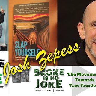 Broke is No Joke! Author & Self-Help Financier Josh Zepess: an interview on the Hangin With Web Show
