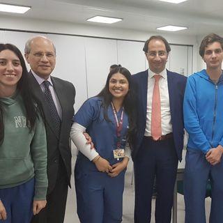 Alumnos de Medicina en diálogo abierto con el Rector