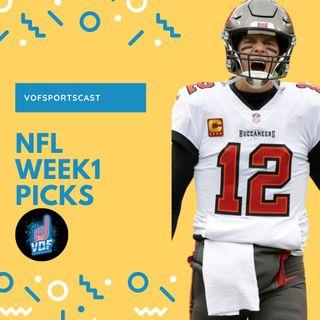Bucs beat the cowboys! NFL week 1 picks.