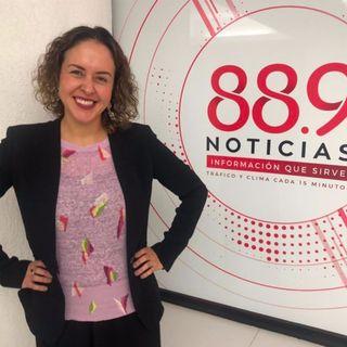 Paola Fontanelli, Gerente de Comunicación, Reputación y Responsabilidad Social de Pfizer México (24 de agosto 2019)