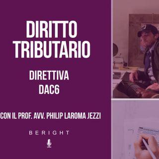 VII app. Diritto Tributario - La Direttiva DAC6