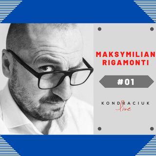 Fotograf Maksymilian Rigamonti w Kondraciuk LIVE! #09
