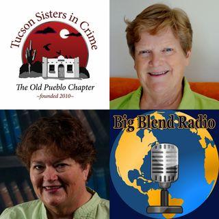 Tucson Sisters in Crime - Eva Eldridge and Elaine A Powers on Big Blend Radio