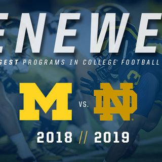 Irish Football Weekly W/Tony Hunter: Notre Dame-Michigan Preview Show