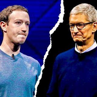 Cuando Zuckerberg le pido consejos de PRIVACIDAD a Cook
