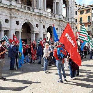 Cgil-Cisl-Uil, Primo Maggio con presidio in piazza dei Signori