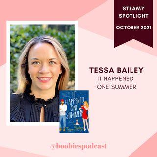 Steamy Spotlight Tessa Bailey