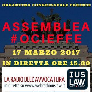 #OCIEFFE, 17 marzo