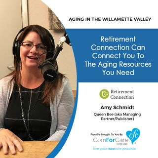 11/28/17: Amy Schmidt with Retirement Connection | Retirement Connection can connect you to the aging resources you need