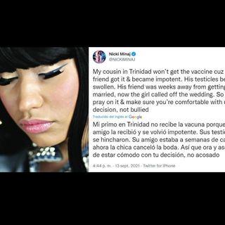 Amenazan a la familia de Nicky Minaj