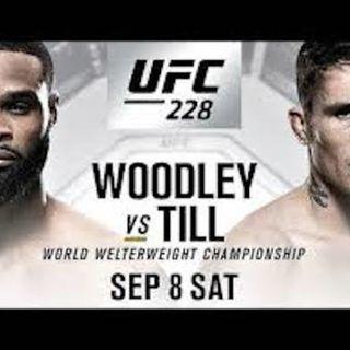 #UFC228 - Woodley vs Till