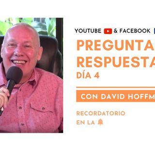 Preguntas y respuestas en VIVO con David Hoffmeister - Día 4 - Un curso de milagros