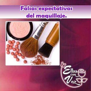 Falsas expectativas del maquillaje