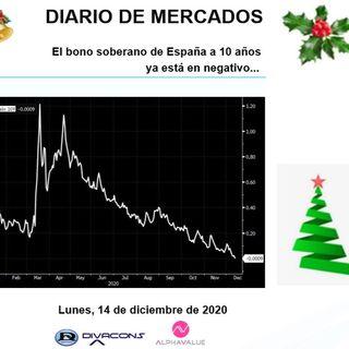 DIARIO DE MERCADOS Lunes 14 Dic