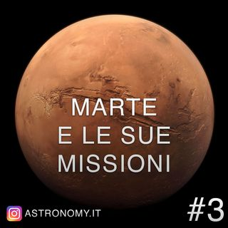 Marte e le sue missioni