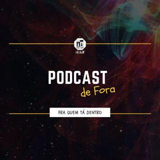 """Podcast de Fora - Ep. 04: """"Não julgue um livro/filme pela capa/sinopse""""."""