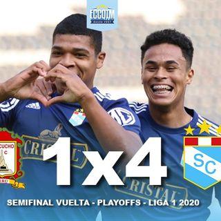 La Cancha: Ayacucho FC 1 - Sporting Cristal 4