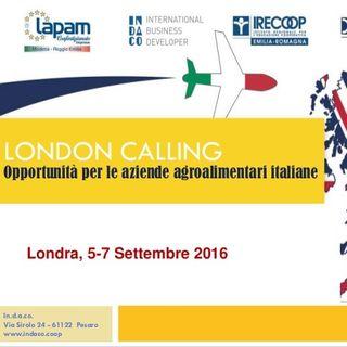 London Calling Events - Evento Internazionale per le aziende agroalimentari italiane