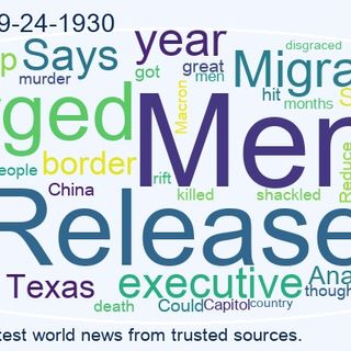 World News 2021-09-24-1930