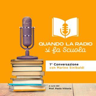 Dialogo tra Marino Sinibaldi e Paolo Vittoria (anteprima Quando la Radio si fa Scuola)