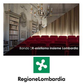 "Bando ""R-esistiamo Insieme"" Regione Lombardia"