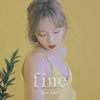 Fine (Live in Seoul)