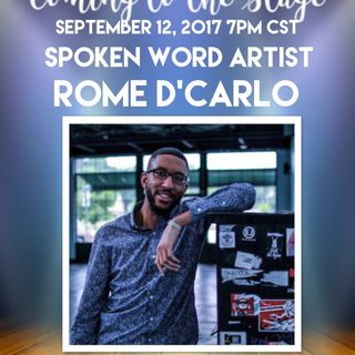 COMING TO THE STAGE: ROME D'CARLO