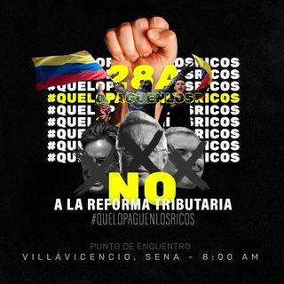 Paro Nacional 28A - Reforma Tributaria