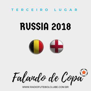 Bélgica vence de novo a Inglaterra e conquista o terceiro lugar