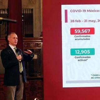 Asciende a seis mil 510 el número de defunciones por Covid-19 en México