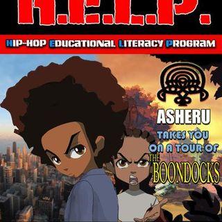 Asheru and his Peabody Award save the children