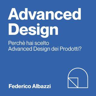 Federico, iscritto al 1° anno di Advanced Design dei Prodotti Università di Bologna