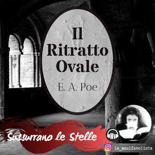 ♰ IL RITRATTO OVALE ♰ E. A. Poe  ☎ Lettura a bassa voce (e temporale in sottofondo) ☎