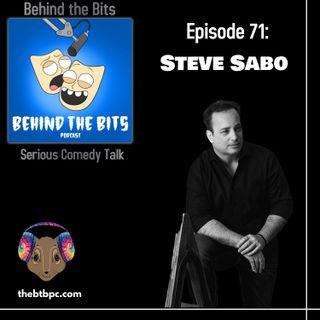 Episode 71: Steve Sabo