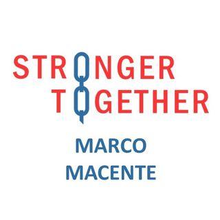 Intervista a Marco Macente per il progetto #StrongerTogether 2020