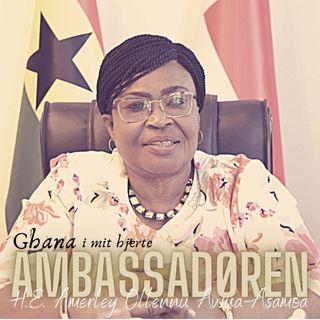 Ambassadøren - H.E. Amerley Ollennu Awua-Asamoa