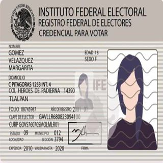 Credenciales para votar vencidas este año, estarán vigentes hasta junio 2021