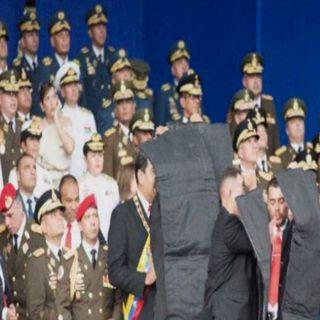 Maduro sale ileso