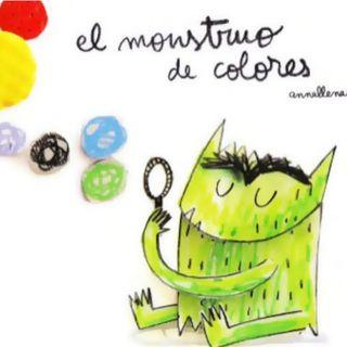 El monstruo de colores, cuento sobre las emociones