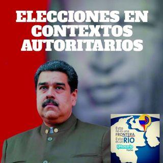Elecciones en contextos autoritarios